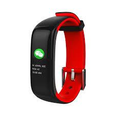 heart rate tracker bracelet images Torntisc smart band p1 plus color display fitness bracelet heart jpg