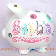 Customized Piggy Bank 107 Best Pig Alcancias Images On Pinterest Piggy Bank Mice And