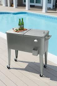 Wooden Garden Furniture Ideas Furniture Stunning Design Of Patio Cooler Cart For Cool Outdoor