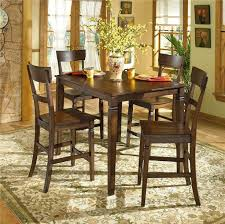 Best Counter Height Kitchen Table Images On Pinterest Kitchen - Hyland counter height dining room table with 4 24 barstools