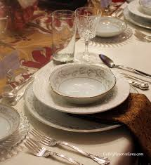 downton abbey tablescape for the servantless home decorator got