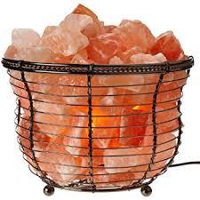 himalayan glow salt l wbm 1301b himalayan glow natural air purifying tall round basket