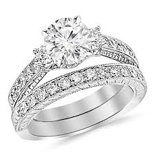 cheap bridal sets cheap vintage bridal ring set find vintage bridal ring set deals