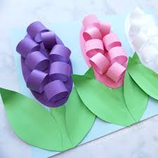 hyacinth flower how to make paper hyacinth flowers i heart crafty things