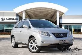 lexus fort worth used 2010 tungsten pearl lexus rx 350 3 5l for sale park place