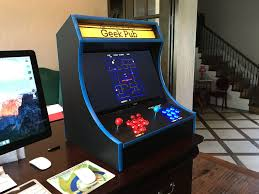 Cocktail Arcade Cabinet Kit Build A Retropie Bartop Arcade Cabinet The Geek Pub
