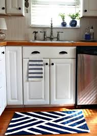 Kitchen Rug Ideas Small Kitchen Area Rug In White And Blue Colors Kitchen Area