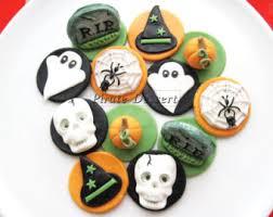 Halloween Cake Decorations Halloween Cupcake Decorations Edible