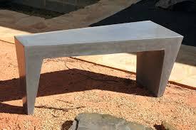 stone table outdoor furniture perth benches sanderson concrete inc