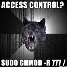 Crea Meme - chmod 777 everything meme on imgur