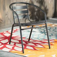 Iron Patio Table And Chairs Metal Patio Furniture You Ll Wayfair