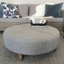 coffee table coffee table amazing white leather ottoman round