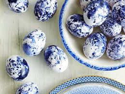blue easter eggs nail easter eggs southern living
