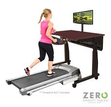 Standing To Sitting Desk Treadmill Exercise Desk Workstation Table