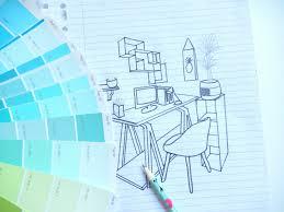 deco bureau pro projet décoration mon carnet déco diy organisation idées