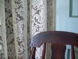 Old Fashioned Lace Curtains by Vintage Ephemera Nottingham Lace Curtain 1912 Ecru Vintage Lace
