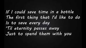 quote about time well spent jim croce time in a bottle lyrics youtube