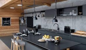 cuisine mur noir cuisine des photos déco pour s inspirer côté maison