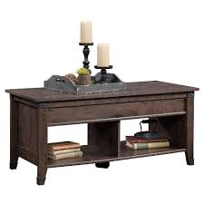 sauder coffee and end tables carson forge lift top coffee table coffee oak sauder target
