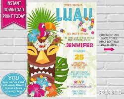 hawaiian luau party hawaiian luau birthday invitation luau party hawaiian