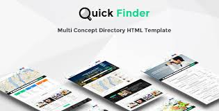 quickfinder directory u0026 listings template multi industry by