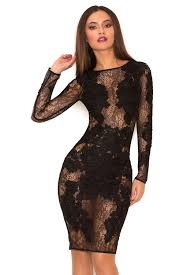 black lace dress clothing dresses nolita black stretch lace