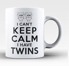 Tea And Coffee Mugs Can U0027t Keep Calm I Have Twins Coffee Mug Tea Cup