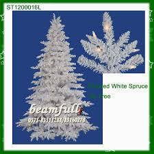 white outdoor lighted christmas trees white outdoor lighted