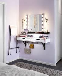 little make up station for small space living loving u2013 for all