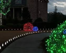 creating led light balls unique outdoor decorations