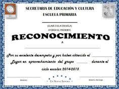 imagenes de reconocimientos escolares planeta escolar diplomas y reconocimientos a padres y familia