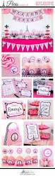 paris baby shower party printable package diy baby shower ideas