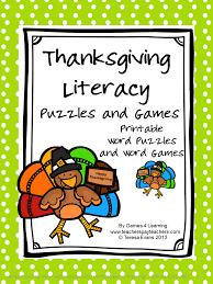 thanksgiving games printables fun games 4 learning november 2013
