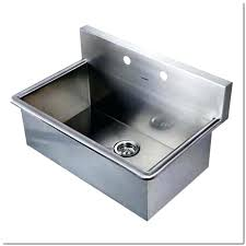 wall mount stainless steel sink stainless steel wall mounted sink mozano info