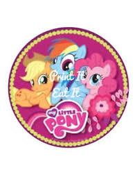 pony cake my pony cake and cupcake topper edible printing