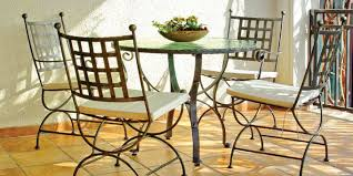 Wrought Iron Patio Chair Unique Outdoor Wrought Iron Patio Furniture With Wrought Iron