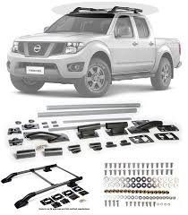 2013 Nissan Frontier Roof Rack by Amazon Com 2005 2014 Nissan Frontier Silver Roof Top Rack Rail