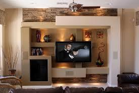 Custom Media Wall Family Room Contemporary With Entertainment - Family room entertainment