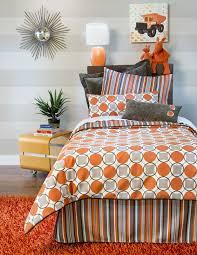 bed sets girls bedroom orange bedding kids orange and gray bedding toddler boy