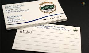 Vancouver Business Card Printing Writable Business Cards In Vancouver And Surrey Canada