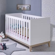 chambre bébé modulable lit bebe evolutif 70x140 siki blanc sikiblcm01b