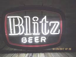 cheap light up beer signs rare vintage blitz weinhard beer neon lights light up bar sign