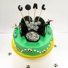 football cake football cake kit by craft crumb notonthehighstreet