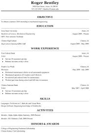 Resume Mechanical Engineer Sample by Typical Resume Haadyaooverbayresort Com