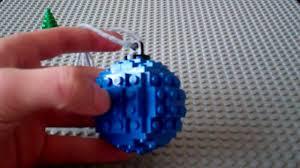lego ornament tutorial