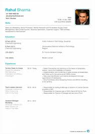 Resume For Iti Fitter Automobile Resume Samples Mechanical Engineer Format Iti Fitter