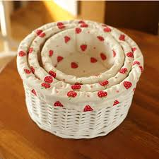 baskets for gifts small middle large wicker storage baskets decorative rattan