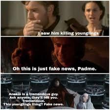 Meme Star Wars - did you ever hear the tale of darth trump star wars pinterest