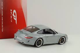 porsche sport classic grey 2009 porsche 911 997 sport classic gray 1 18 gt spirit gt047