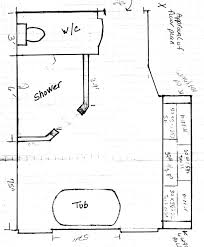 Master Bathroom Floor Plans With Walk In Shower by Interesting Walk In Shower Plans And Specs Floor Plan Throughout Ideas